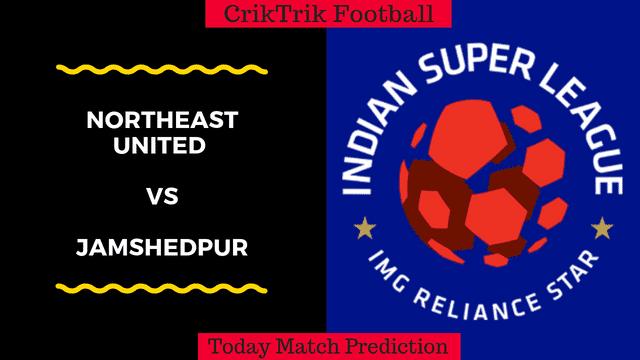 northeast vs jamshedpur today match prediction