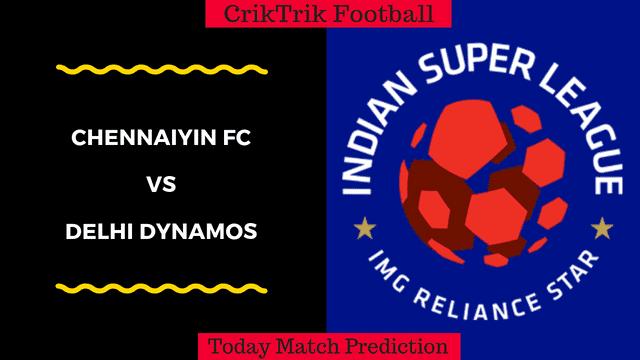 chennaiyin vs delhi dynamos isl match prediction