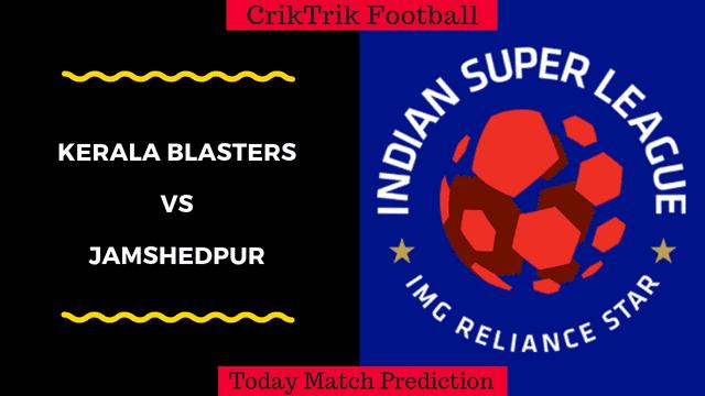 kerala blasters vs jamshedpur match prediction isl