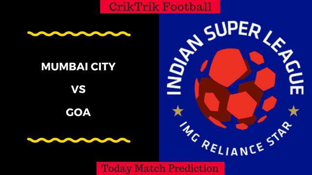 mumbai city vs goa isl match prediction