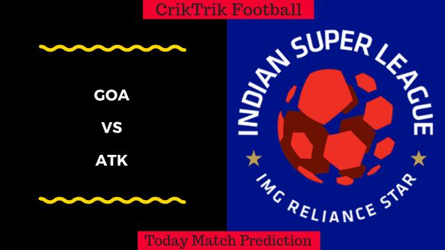 GOA vs ATK today match prediction