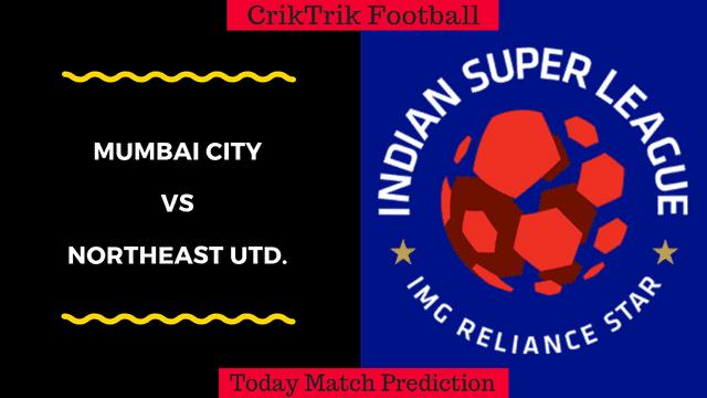 mumbai city vs northeast united