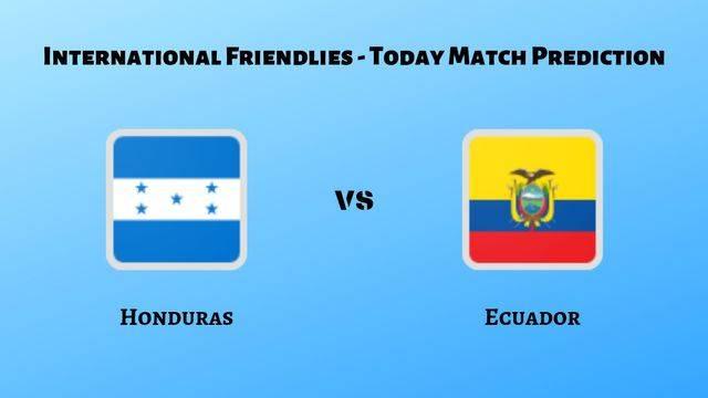 Honduras vs Ecuador