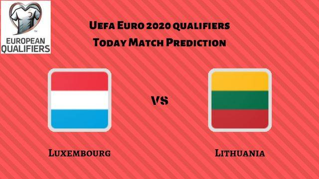 Luxembourg vs Lithuania