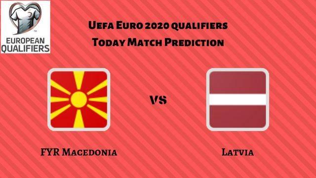 Macedonia vs Latvia