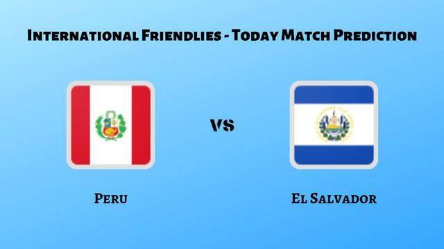 Peru vs El Salvador