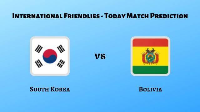 South Korea vs Bolivia