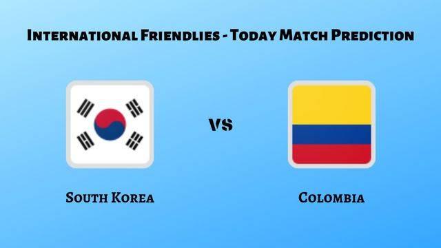 South Korea vs Colombia