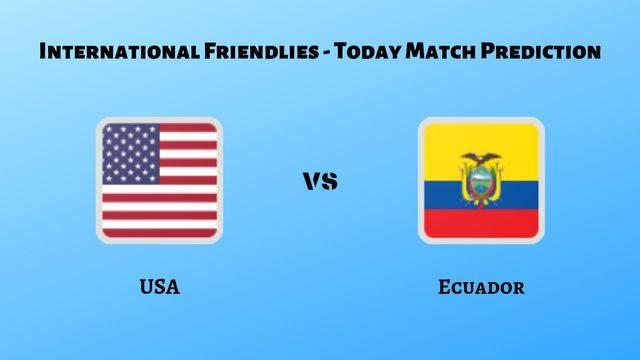 USA vs Ecuador betting tips