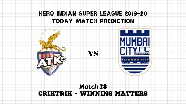 atk vs mumbai prediction match28 - ATK vs Mumbai Today Match Prediction – ISL 2019-20