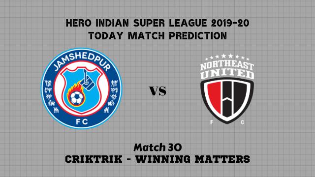 jamshedpur vs northeast prediction match30 - Jamshedpur vs NorthEast Today Match Prediction – ISL 2019-20