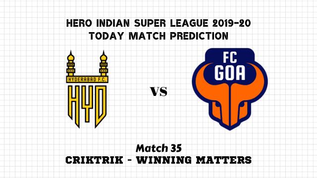 hfc vs fcg prediction match35 - Hyderabad vs Goa Today Match Prediction – ISL 2019-20