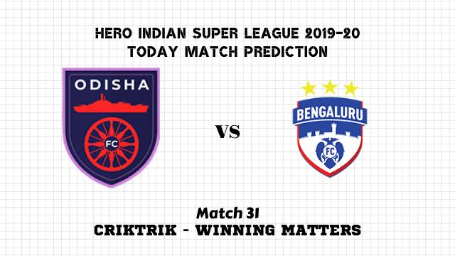 ofc vs bfc prediction match31 - Odisha vs Bengaluru Today Match Prediction – ISL 2019-20