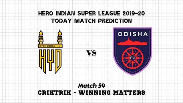 hfc vs ofc prediction match59 - Hyderabad FC vs Odisha FC Today Match Prediction – ISL 2019-20