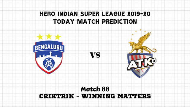 bfc vs atk prediction isl 2019 20 match88 - Bengaluru FC vs ATK FC Today Match Prediction – ISL 2019-20