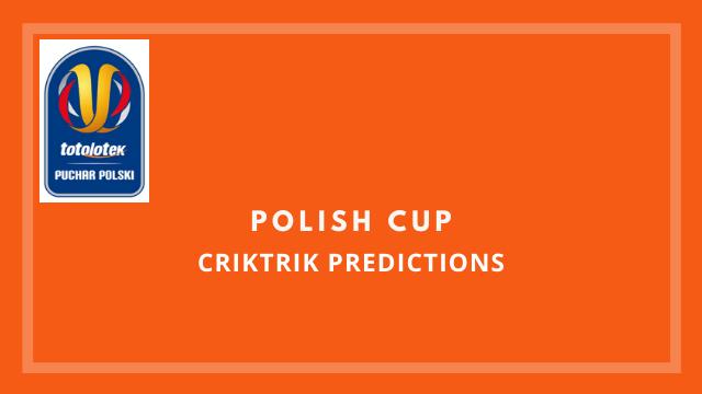 Polish Cup football predictions criktrik - Stal Mielec vs Lech Poznan Today Match Prediction - 27/05/2020